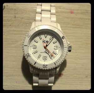 Authentic White ICE Watch - Unisex